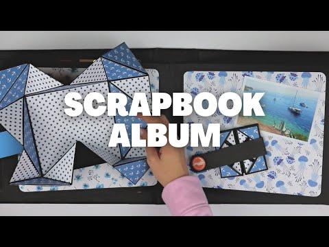 DIY SCRAPBOOK ALBUM | MEMORY BOOK | SCRAPBOOK IDEAS