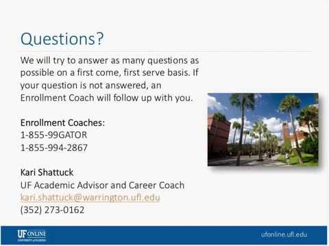Webinar: Bachelor of Science in Business Administration, Feb 25, 2015