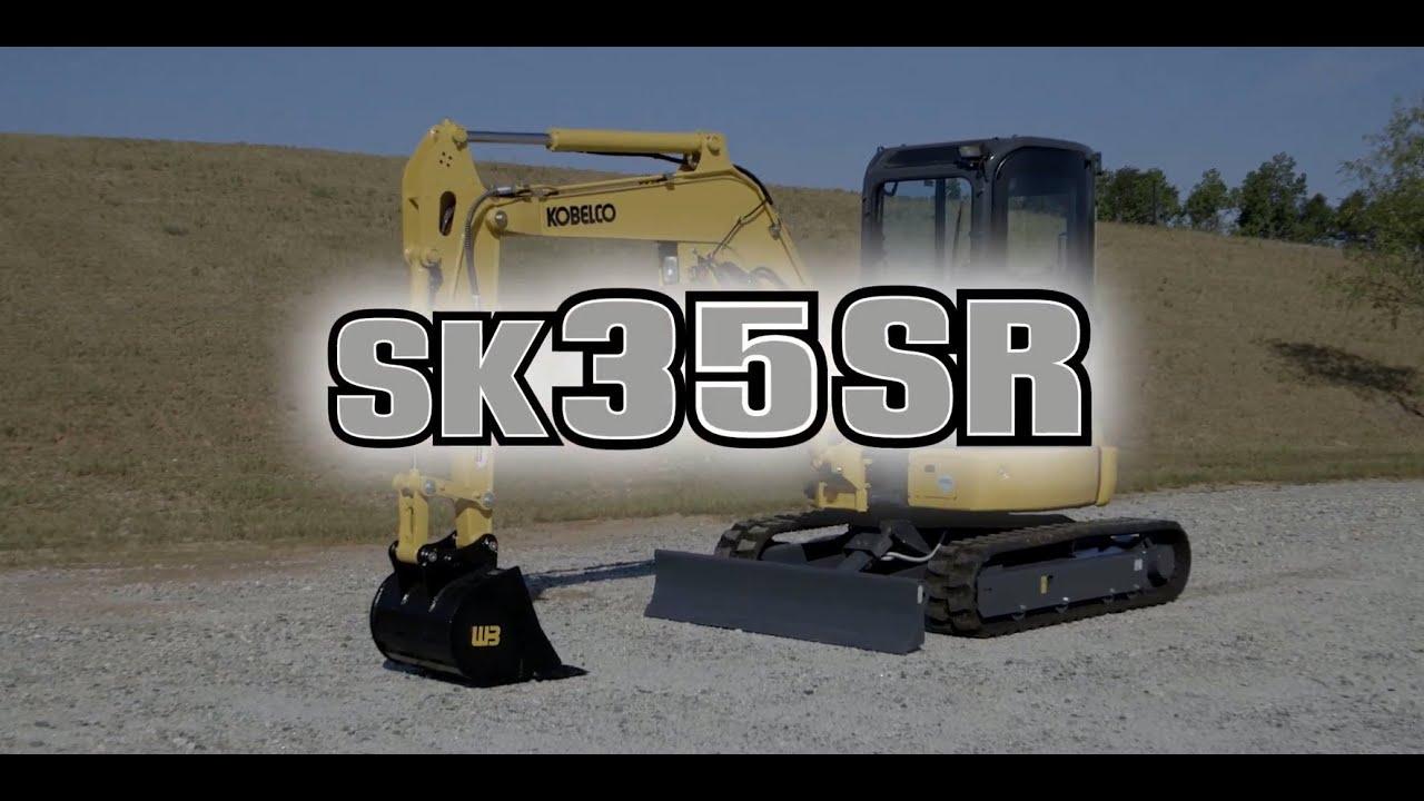 KOBELCO SK35SR-6E Compact Excavator