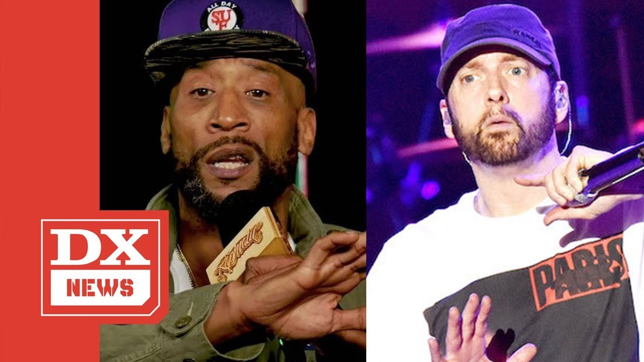 Lord Jamar Says Black People Don't Like Or Listen To Eminem