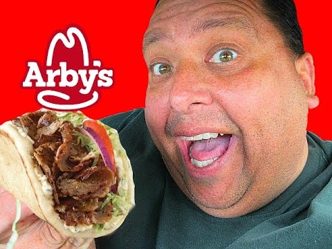 ARBY'S®  Traditional Greek Gyro Review!