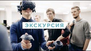 """Участники олимпиады """"Я - профессионал"""" на экскурсии в АО """"Лазерные системы"""""""