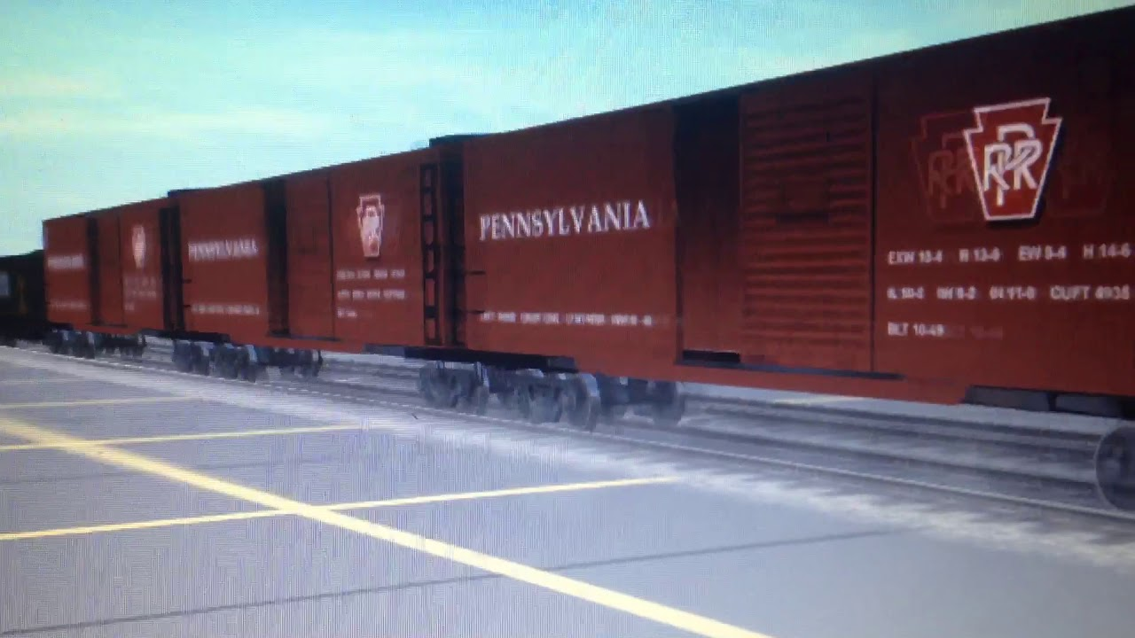 Trainz Up Boy Hauling Freight