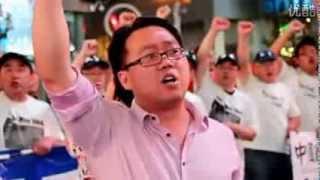 秦伟平先生在美国纽约时代广场发表英文演讲《梦想的力量》
