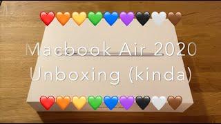 Unboxing Macbook Air 2020