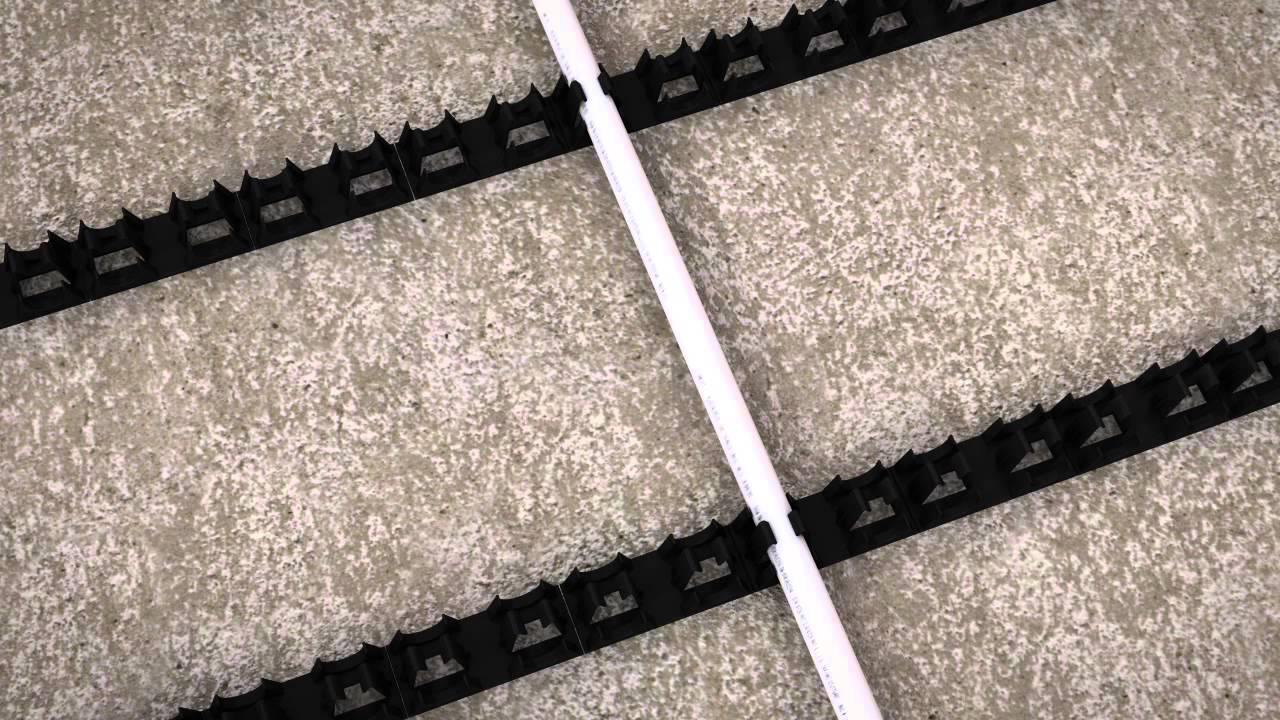 Underfloor heating stunning uponor underfloor heating classic with prowarm warm water underfloor heating kit clip rail method youtube with underfloor heating asfbconference2016 Gallery