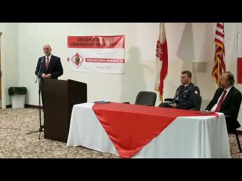 Minister Antoni Macierewicz - spotkanie w Amerykańskiej Częstochowie