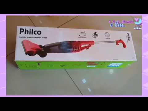 Testando O Aspirador De Pó Philco PH1100 - Faxina No Studio