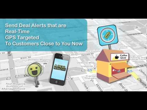 Push a Deal - Mobile Local Deals, Canada Deals, Toronto Deals - for Stores Intro
