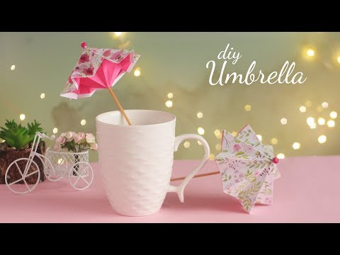 DIY Paper Umbrella | How to make Umbrella | Handmade