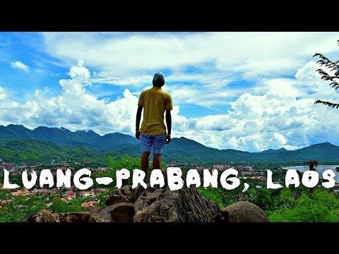 Best Waterfalls & Tubing in River ( Vang Vieng & Luang Prabang, Laos ) Adventure & Peace