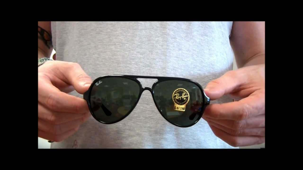 Ray Ban Cat 5000 Sunglasses Review - RB4125 601 - YouTube 2dfc4a8e51c5