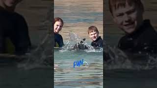 Александра Трусова Alexandra Trusova Саша и дельфин