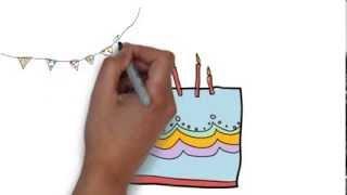 [ 生日祝賀 ] 創意手繪影片 - 人脈加有限公司 Kevin