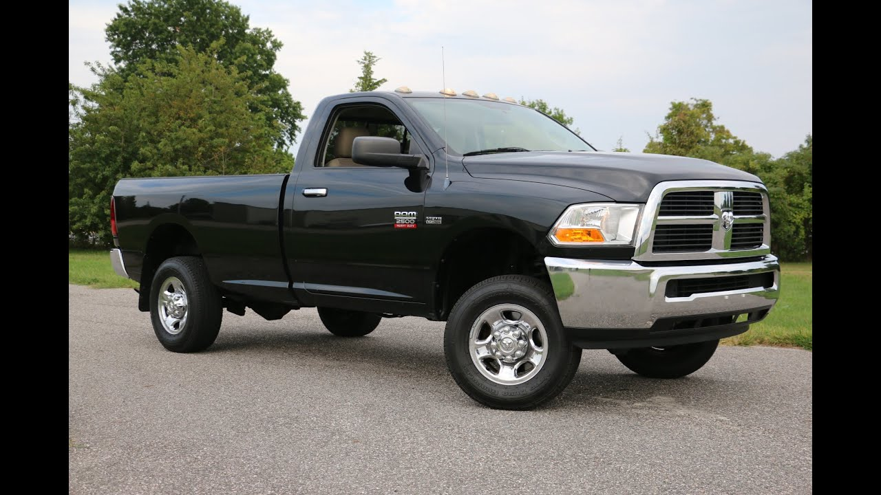 2017 Dodge Ram 1500 Hemi >> 2011 Dodge Ram 2500 SLT Regular Cab For Sale~5.7L HEMI~Black~Runs FANTASTIC!! - YouTube