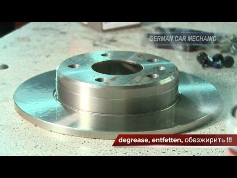 OPEL ZAFIRA A B Замена тормозных колодок и дисков. How to Replace Disc Brakes.