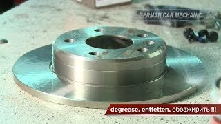 [ OPEL ZAFIRA A & B ] Замена тормозных колодок и дисков. How to Replace Disc Brakes.