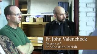 St. Sebastian tours Schantz Organ Co-Orrville, OH