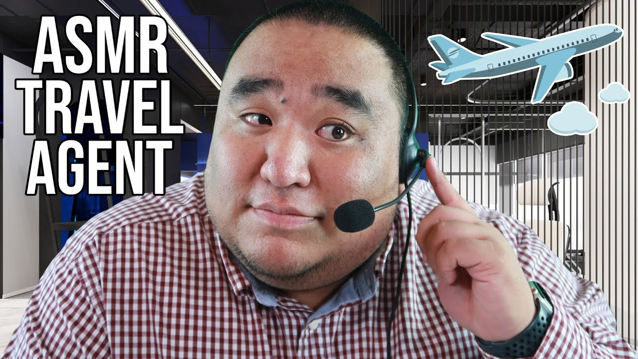 ASMR Travel Agent Roleplay | Soft Spoken, Keyboard Sounds ⌨️