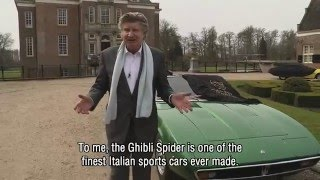 NICO AALDERING PRESENTS THE MASERATI GHIBLI (ENGLISH SUBTITLES) | GALLERY AALDERING TV