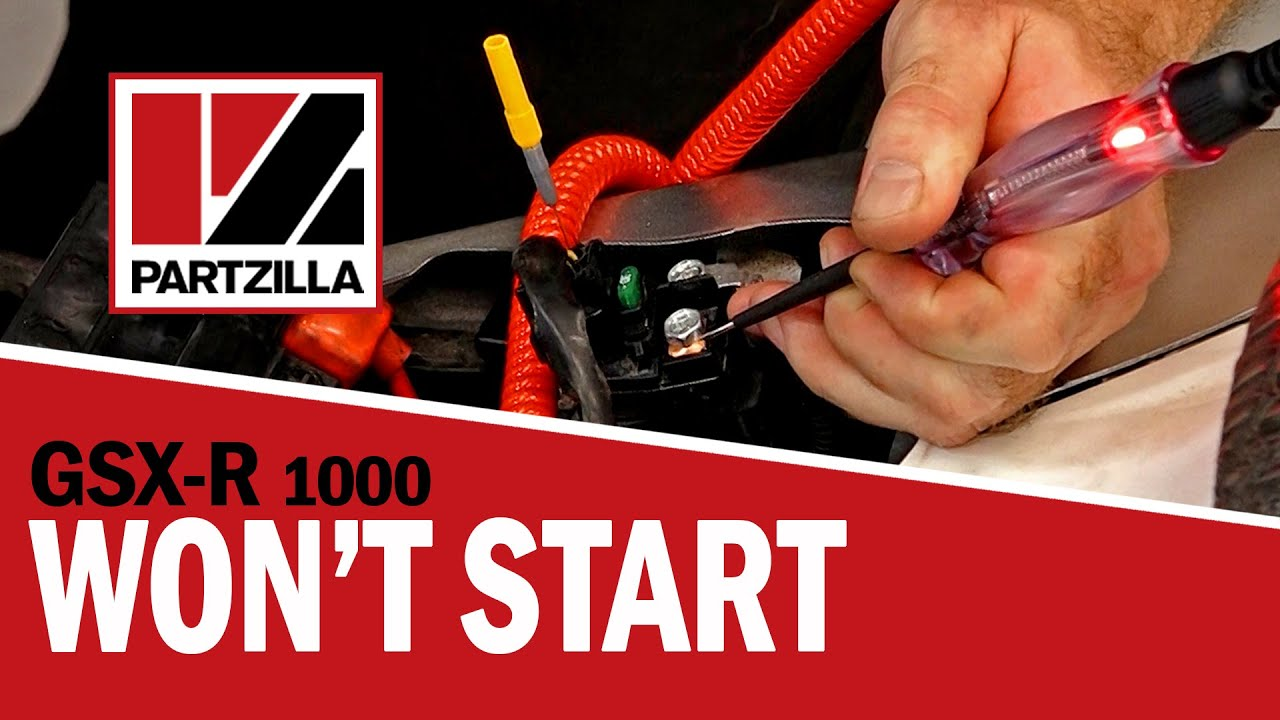 GSXR 1000 Won't Start Troubleshooting | Partzilla.com K Gsxr Wiring Diagram on