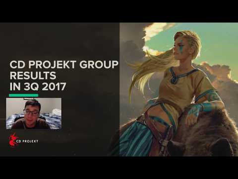 CD Projekt 3Q 2017 Analysis (Time Stamps in the Description)