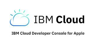 Gambar cover IBM Cloud Developer Console for Apple Demo