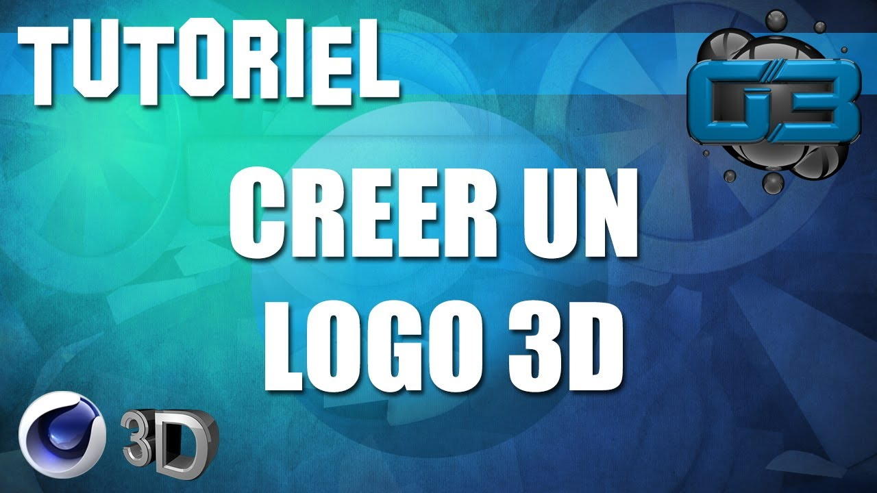 creation logo en 3d