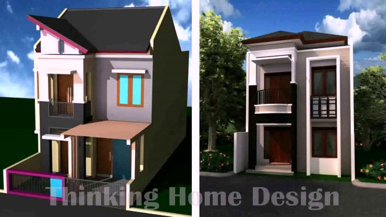 2 storey narrow house designs in the philippines