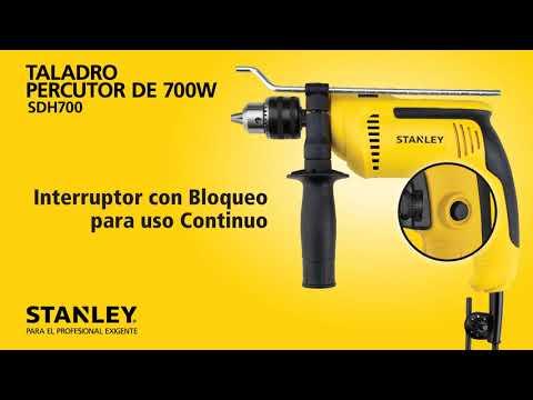 Taladro Percutor de 700W STANLEY - SDH700