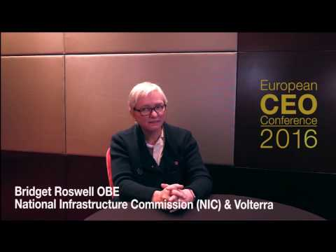 European CEO Conference 2016 - Bridget Rosewell OBE Interview