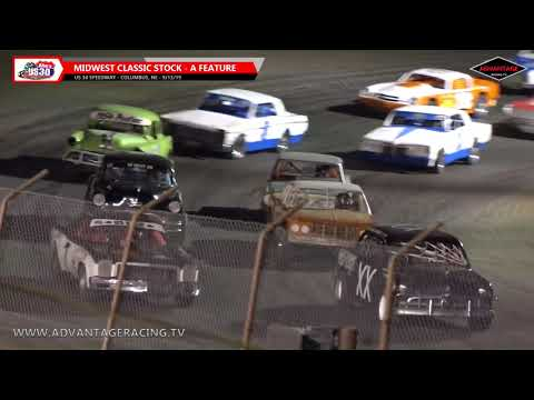 Sport Modified B Feature/MCSA A Feature - US 30 Speedway - 9/13/19