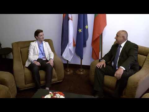 Бойко Борисов: Срещата на върха за Западните Балкани и проектите за свързаност в региона са основните теми на разговора ни със сръбския премиер Ана Бърнабич.