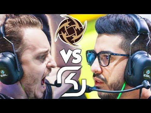 SK vs NiP! (IEM Oakland 2017 Semi-Finals!)