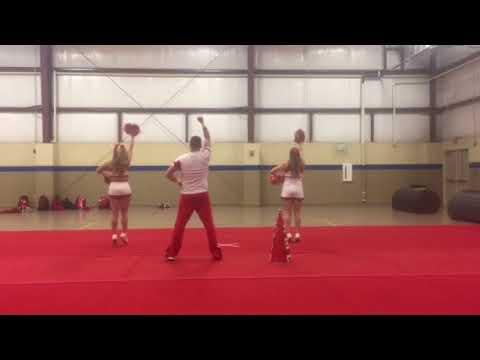 2018 Jacksonville State University Cheerleading Tryout- Fight Song- Jacksonville State University