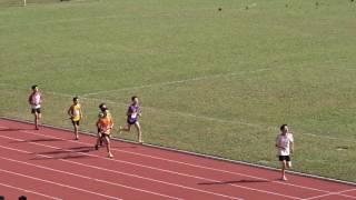 元朗學界田徑男子乙組800米(2016.12.8.)決賽第二組