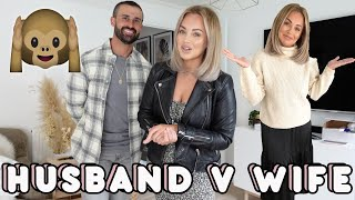 HUSBAND & WIFE BUY EACH OTHERS OUTFITS | Lucy Jessica Carter