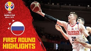 Russia | FULL HIGHLIGHTS - First Round | FIBA Basketball World Cup 2019