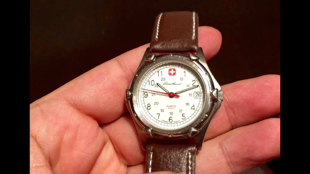 Why I Own A Tiny Eddie Bauer Wenger Swiss Army Watch