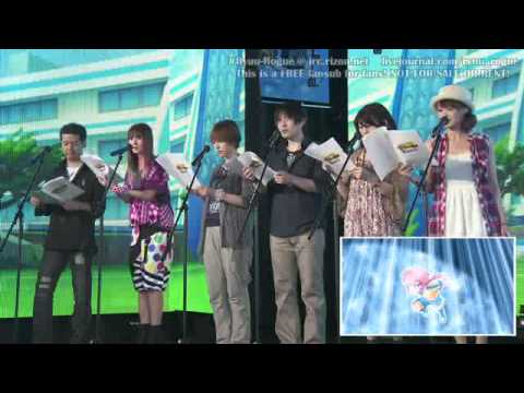 Inazuma Eleven GO Tanabata Festival Live Post Recording Stage Reach the Milky Way! english subbed