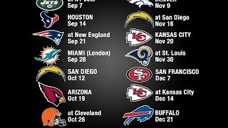 My thoughts on the Raiders 2014 Schedule
