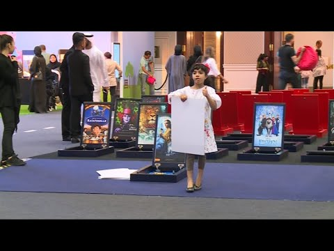 حصري - اختتام مهرجان الشارقة السينمائي الدولي للطفل  - 00:21-2017 / 10 / 15
