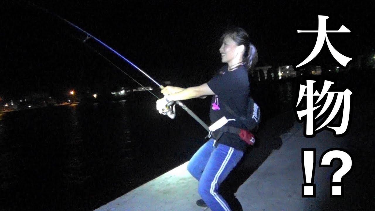 これはアカン。夜、串本の堤防でサビキ釣りと泳がせ釣りをした結果・・・。