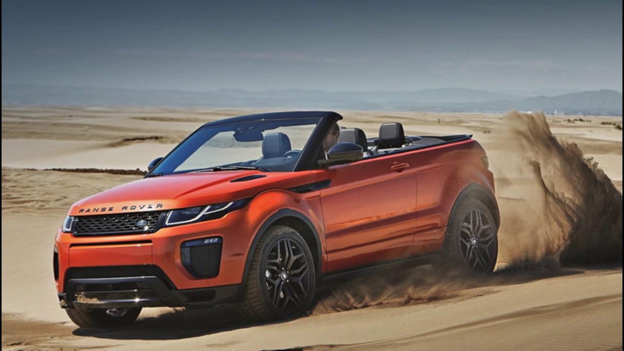 New Range Rover Evoque Convertible Suv Youtube