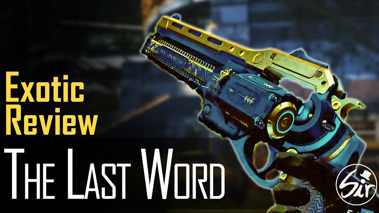 The Last Word Review - Fully Upgraded (Year 1 version - V1 ...