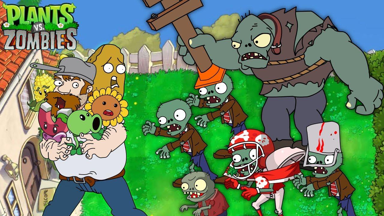 PvZ Creative funny animation #2 (Series 2021)