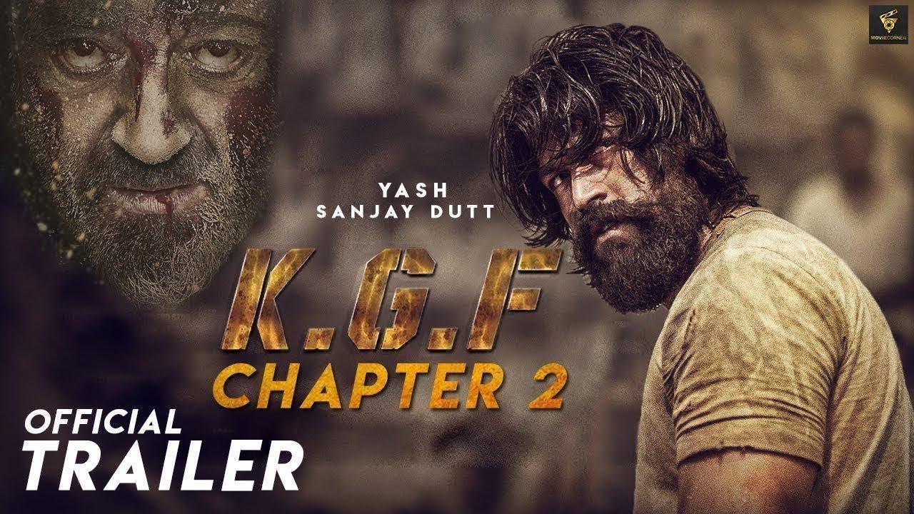KGF 2  Offidial Trailer Hindi, Yash, Srinidhi, Sanjay Dutt, (Chapter 2)