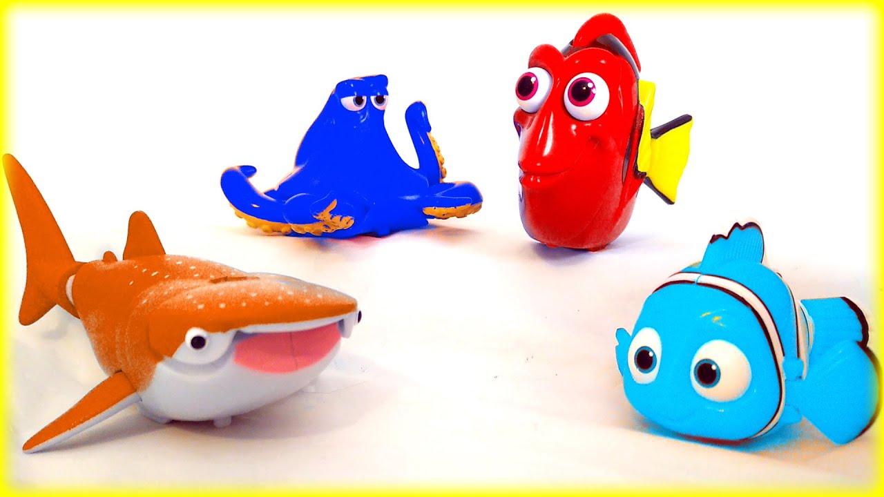 ALL NEW Disney Pixar Finding Dory Finding Nemo Color Mix Up Toys