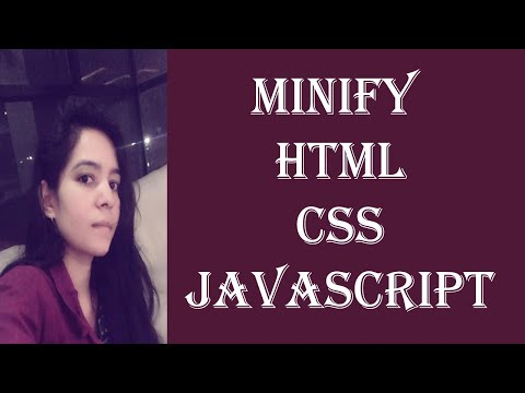 How To Do Minify HTML CSS & JAVASCRIPT Code Of Website | On Page SEO Series Video No - 9 (English)