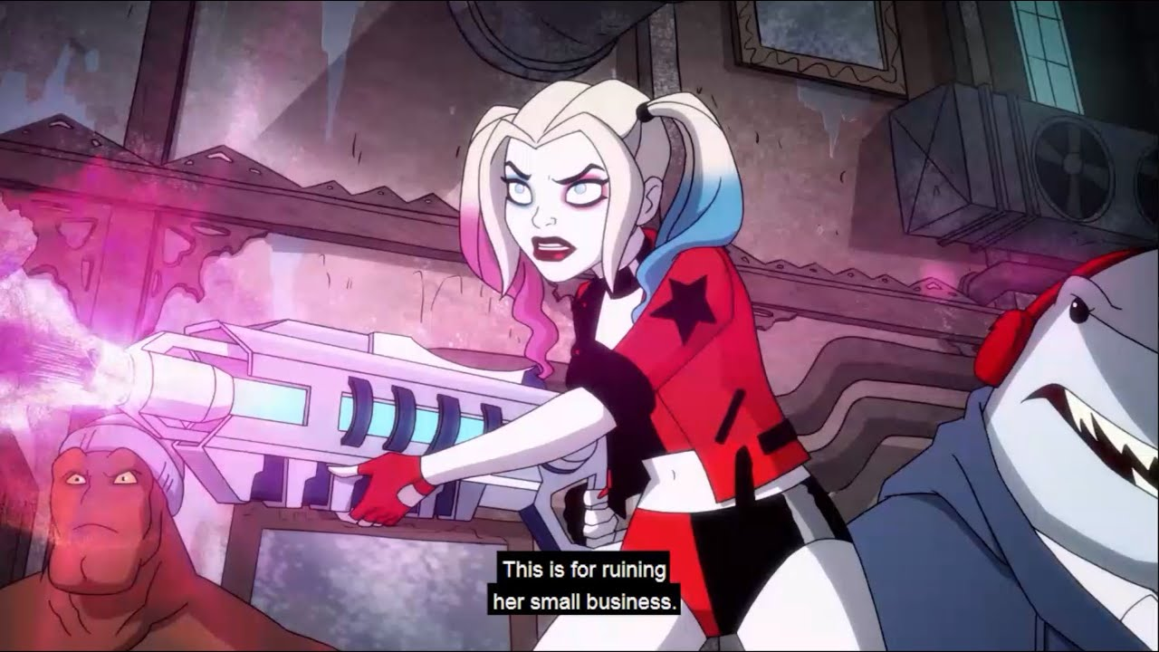 """Download Harley Quinn 2x04 """"Harley unfreeze Mr. Freeze's wife (Nora Fries)"""" Subtitle/HD"""
